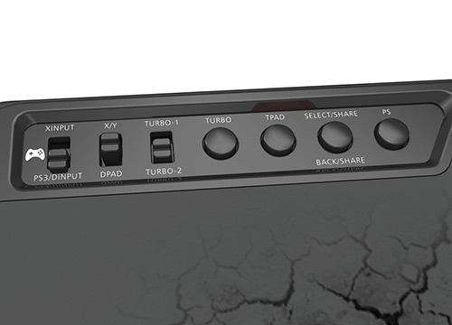 panneau de control du f500