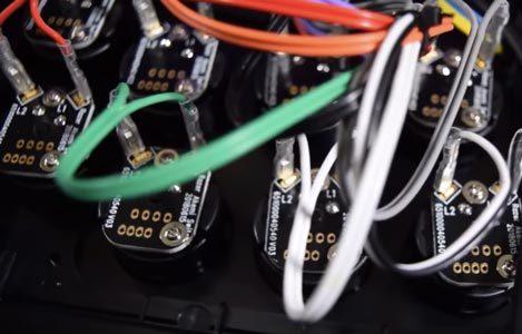 PCBs dédiés aux boutons Razer